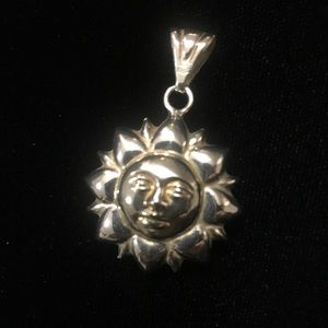 Milor jewelry 925 sterling silver sun pendant poshmark milor jewelry 925 sterling silver sun pendant mozeypictures Choice Image